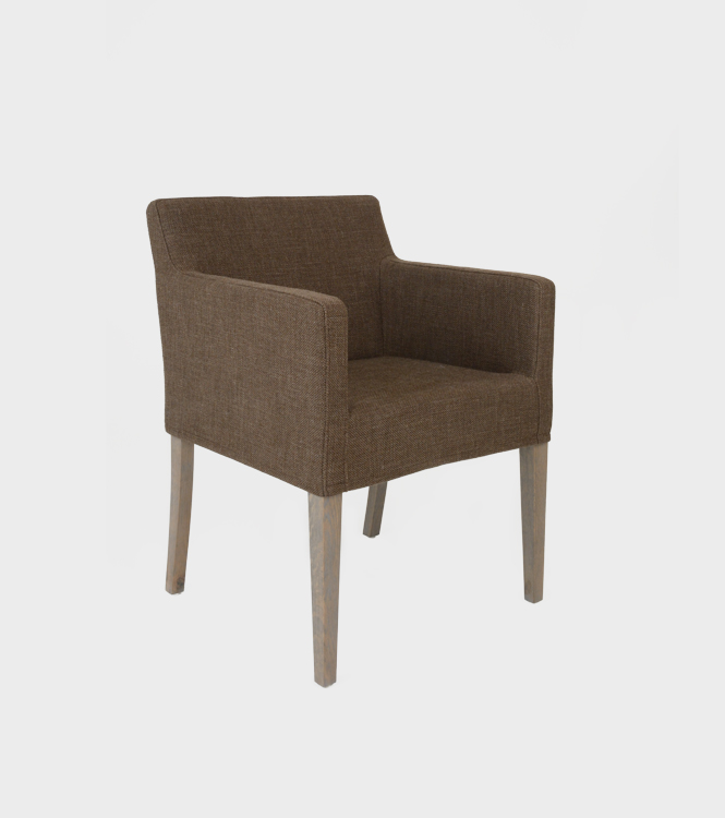 Monaco Dining Chair with arms + slip cover