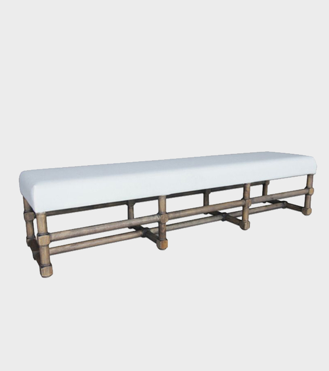 Eaton Upholstered Bench – Mocca