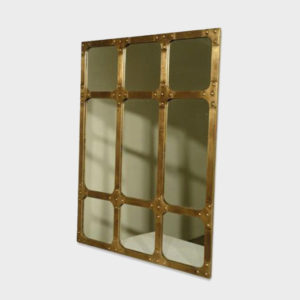 Mirror Industrial – Brass
