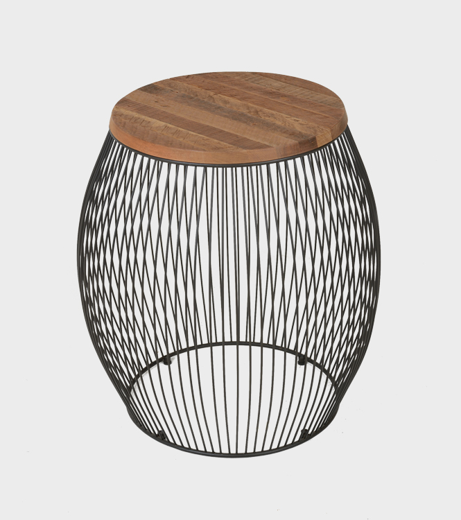 Tombo Side Table – Old Wood
