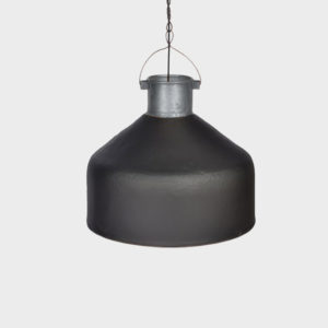 Iron Hanging Lamp – Antoinette Black