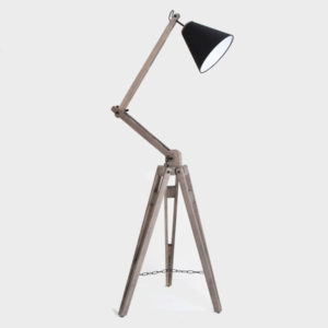 Architectural Floor Lamp – Raw grey wash