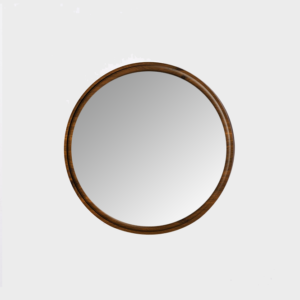 Hard Fumed Oak Mirror - Sml & Lrg