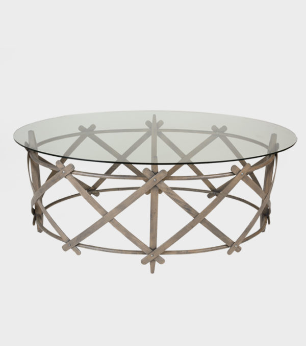 Isola Console Table – With Glass Top