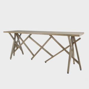 Perspective Console – Wooden