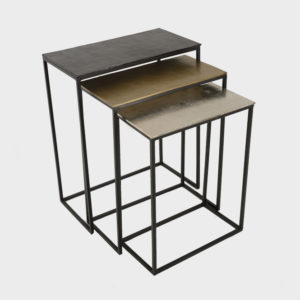 Side Table – Rani – Rectangular – S/3