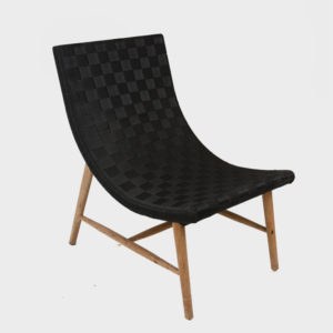 Thomson Lounge Chair – Canvas Straps