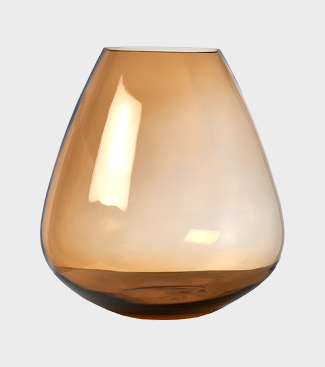 Whiskey Glass Amber