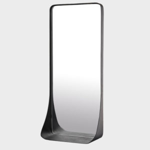 Mirror Metal Edge Shelf - Small