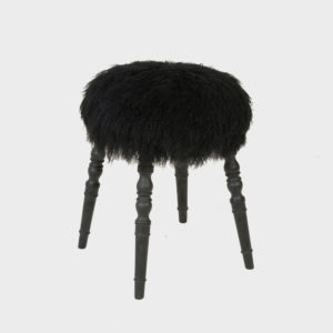 Stool - Lammy Black
