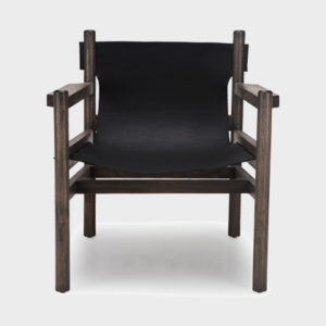 Jo Lounge Chair - Dark Grey