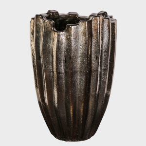 Rowen-bronze-Pot-round-high Small