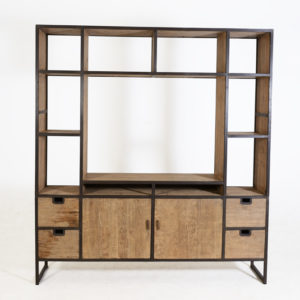 Cabinet-Fermo-2-doors---4-drawers