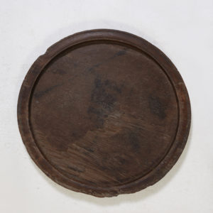 Wooden-Tray-Antique---Round