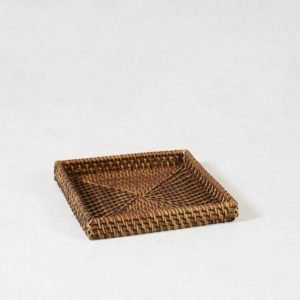 Rattan-Square-Amenity-Tray---Walnut