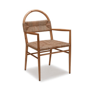 Mamoth Dining Chair with Abaca Rope