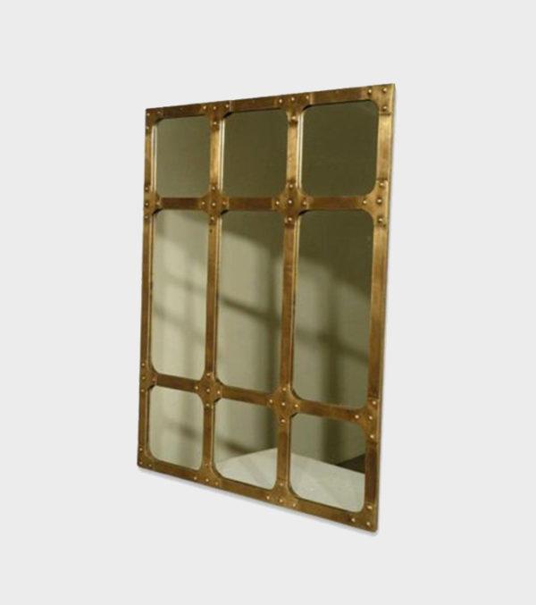 Mirror Industrial – Brass