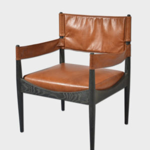 Josephine Lounge Chair – Leather