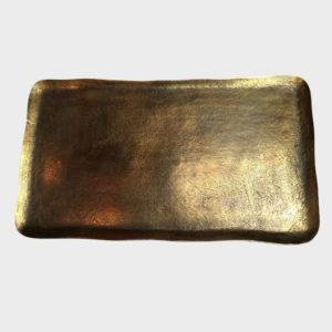 Platter-brass---Rectangle