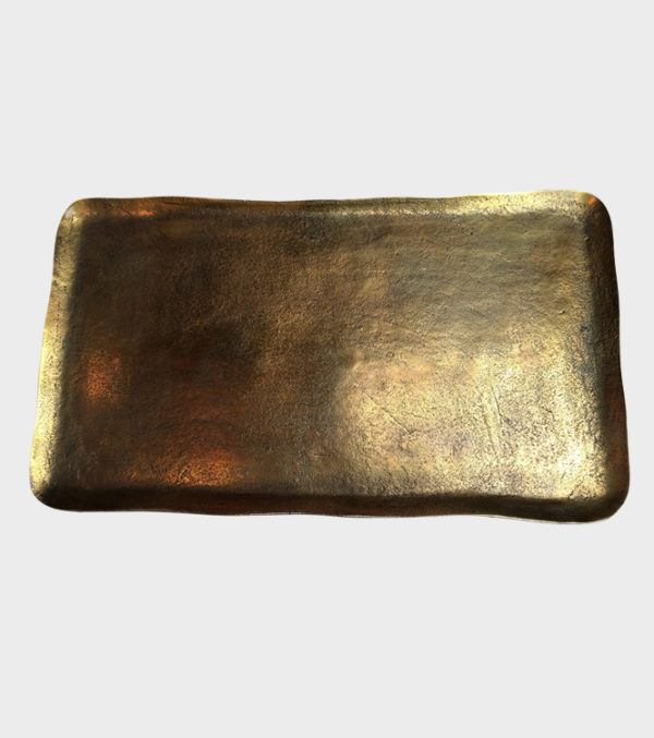Platter-brass---Rectangle