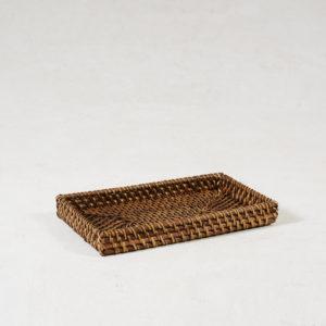 Rattan-Bedside-Tray---Walnut