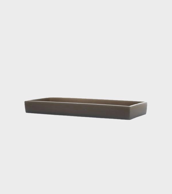 Calgary Tank Tray – Rect – Stone Grey