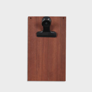 Clip Board – Reclaimed hardwood