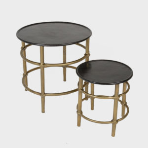Side Table Dino Ant Brass – Sml & Lrg
