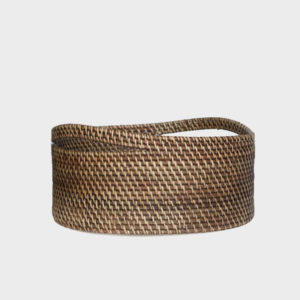 Hamilton – Rattan Magazine Basket – Round Medium