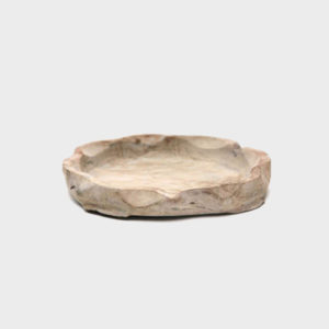 Low Round Bowl - Natural grey