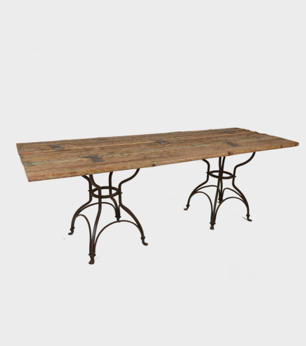 Table Noble with wooden Top