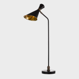 Annie Desk Lamp - Black Brass