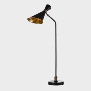 Annie Desk Lamp - Black Brass