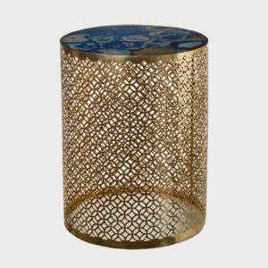 Side Table Precious - Blue Gold