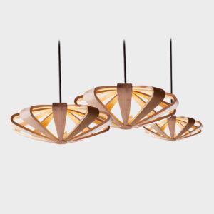 Litten Hanging Lamp - Mocca - Sml, Med, Lrg