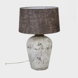 Lampbase Ricepot - White - w/o shade