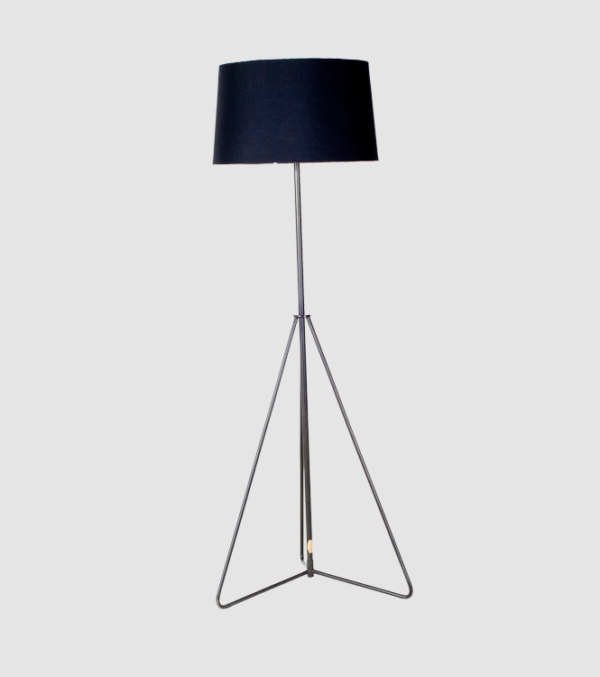 Cordell Floor Lamp with black shade