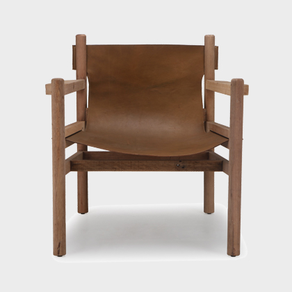 Jo Lounge Chair - Natural Old Finish