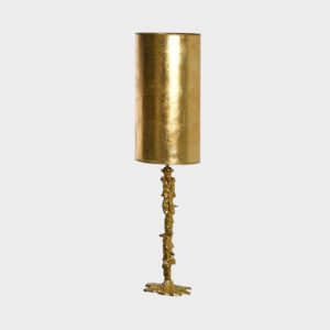 Table-Lamp Drip Gold with Shade