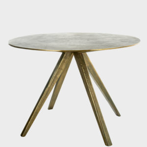 Table-circle-brass