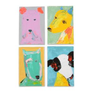 Artwork Dog Rectuangular