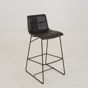 Bar chair Emiel Mud Grey