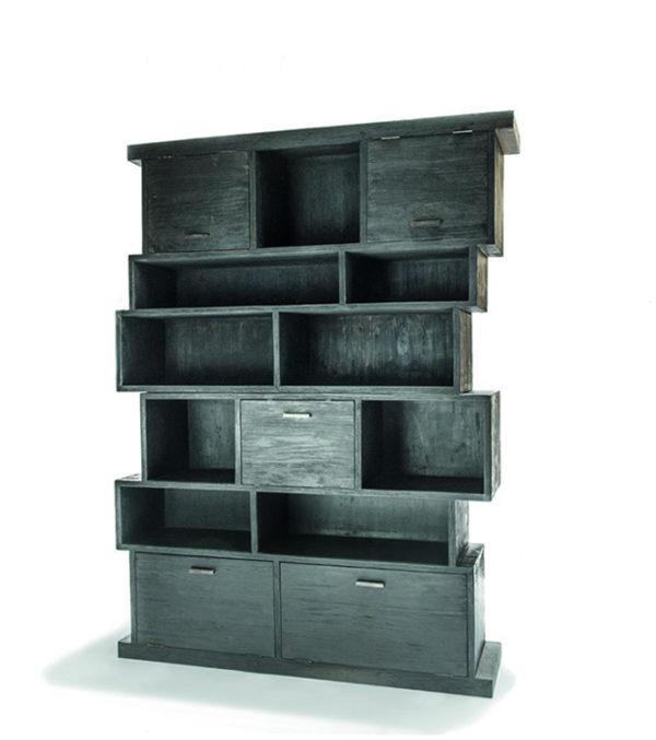 Display Cabinet Dizzy Black