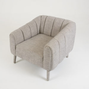 Fluted-Arm-Chair