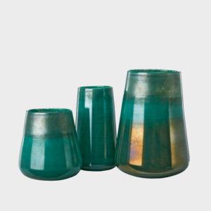 Vase-Radium-Green