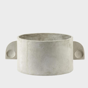 Pot-Art-Deco-Round----LOW---Grey-Concrete