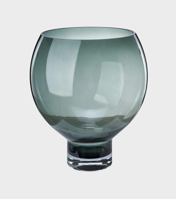 Vase-Coupeball----Smoke
