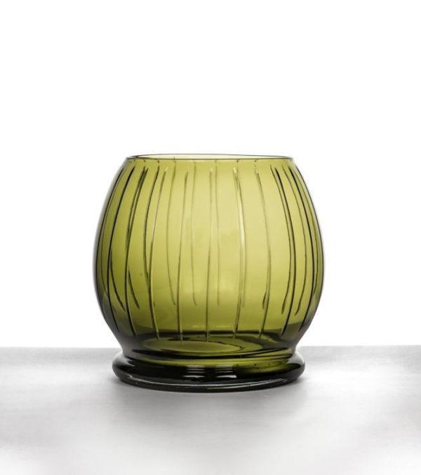 Vase-Viviane-Olive-Glass