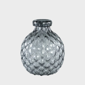 Hugh-Grey-Glass-vase-belly----SMALL