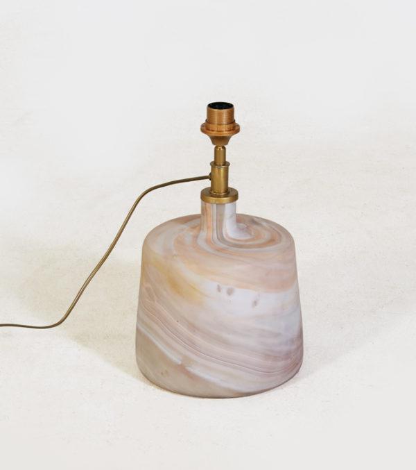 Table-Lamp-Puck-Small---Salmon